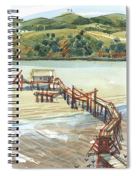 Arneson Park Pier Benicia Spiral Notebook