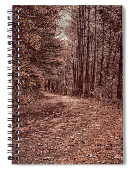 Around The Corner Spiral Notebook