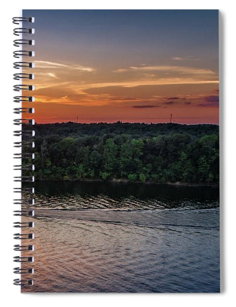 Around The Island Spiral Notebook