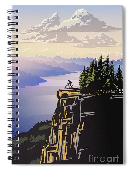 Arrow Lake Solo Spiral Notebook