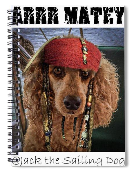 Arrr Matey Spiral Notebook