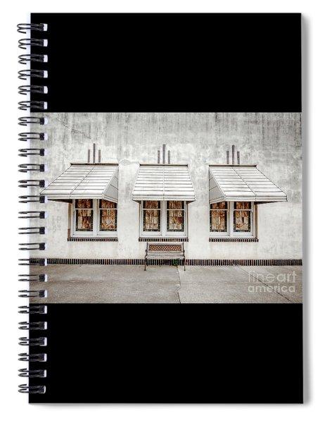 Art Deco Windows Spiral Notebook