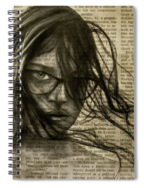 Art In The News 143 Spiral Notebook