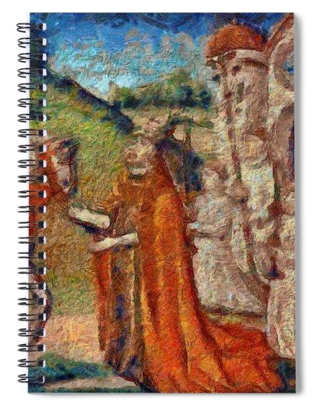Art Medieval Spiral Notebook