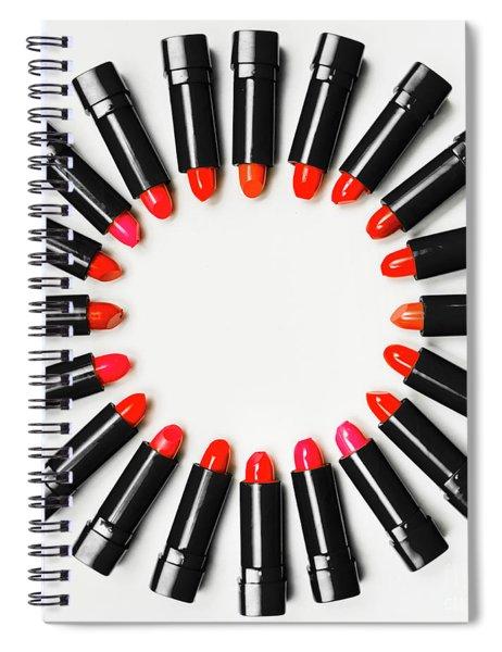 Art Of Beauty Spiral Notebook