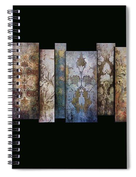 Art Panels - Antique Wallpaper  Spiral Notebook