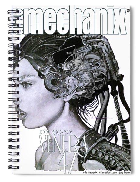 arteMECHANIX 1901 VENERA47 Pt.1 GRUNGE Spiral Notebook