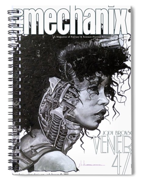 arteMECHANIX 1903 VENERA47 Pt.3 GRUNGE Spiral Notebook