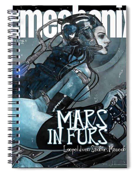 arteMECHANIX 1926 MARS IN FURS GRUNGE Spiral Notebook