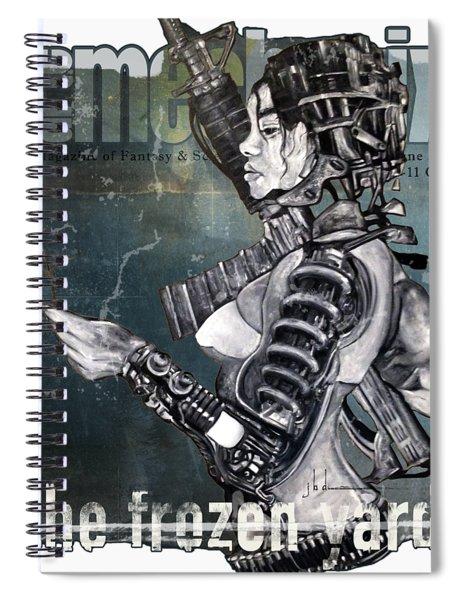 arteMECHANIX 1930 The FROZEN YARD GRUNGE Spiral Notebook