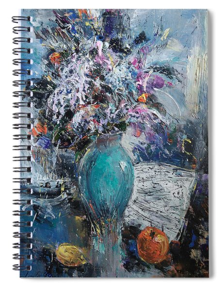 Articulated Melody Spiral Notebook