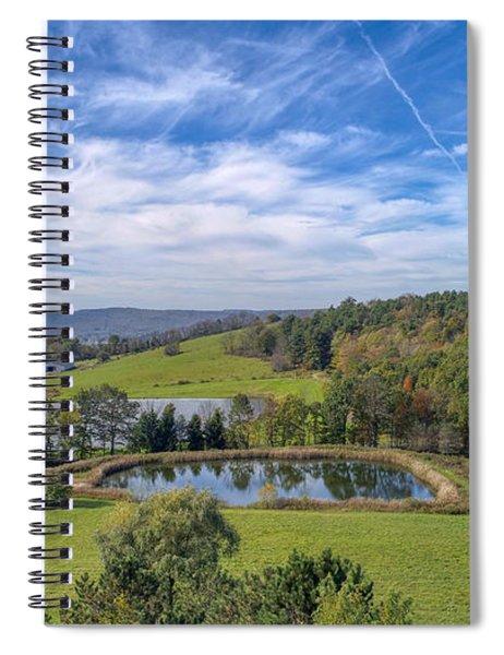 Artistic Hdr Sky  Spiral Notebook
