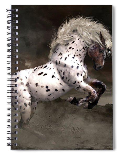 Leopard Appaloosa Shiloh Spiral Notebook