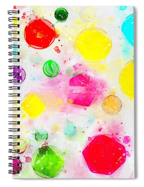 Rejoice And Take \courage/ Spiral Notebook