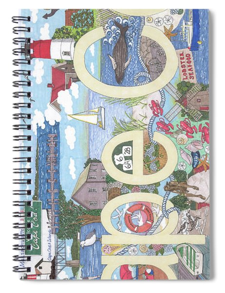 Cape Cod Spiral Notebook