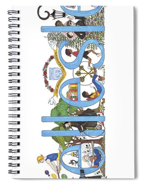 Wellesley College Spiral Notebook