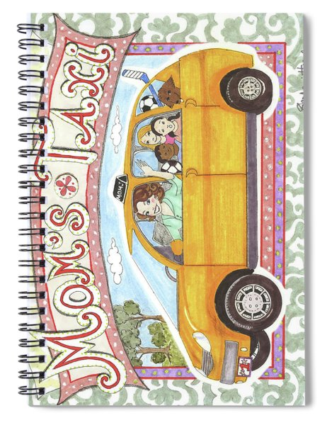 Mom's Taxi Spiral Notebook