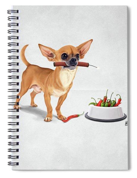 Spicy Wordless Spiral Notebook
