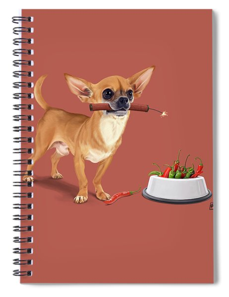 Spicy Spiral Notebook
