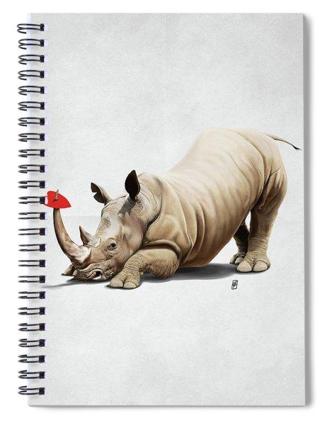 Horny Wordless Spiral Notebook
