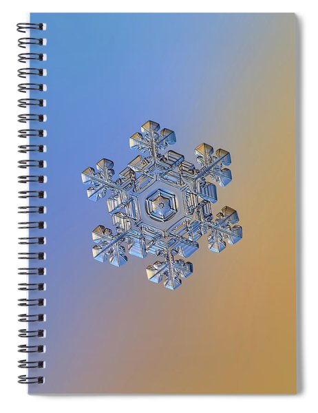 Real Snowflake - 05-feb-2018 - 13 Alt Spiral Notebook