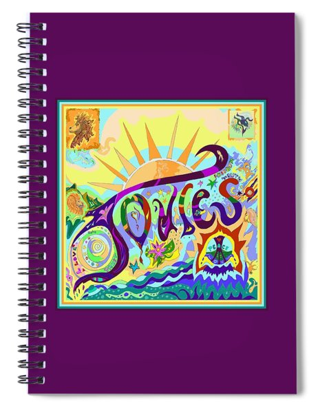 Joules Artist Tag Spiral Notebook
