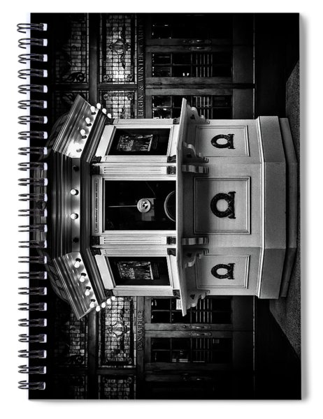 Elgin And Winter Garden Theatre Centre Box Office Spiral Notebook