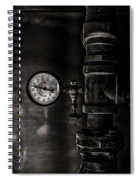 Toronto Distillery District Machinery No 1 Spiral Notebook