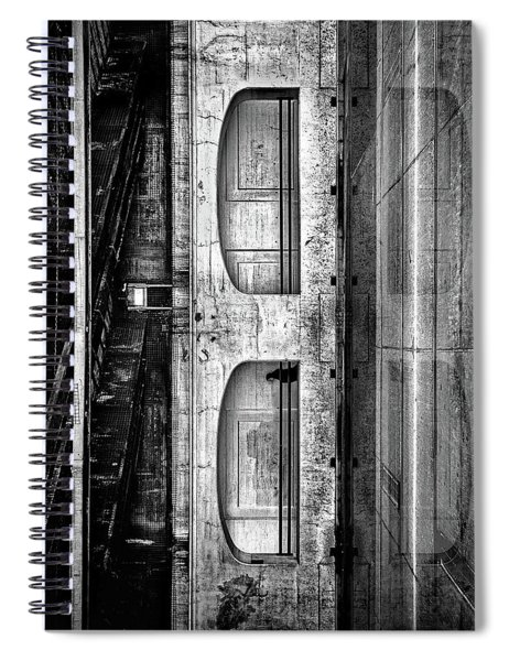 Under The Overpass Reflection Spiral Notebook