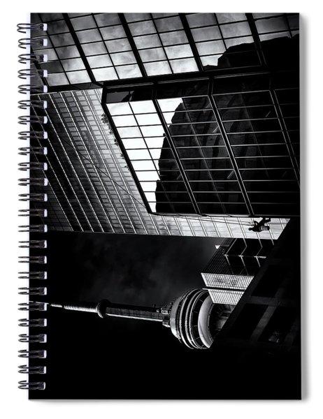 Window Washing No 3 Spiral Notebook
