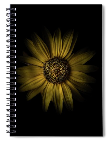 Backyard Flowers 18 Color Version Spiral Notebook