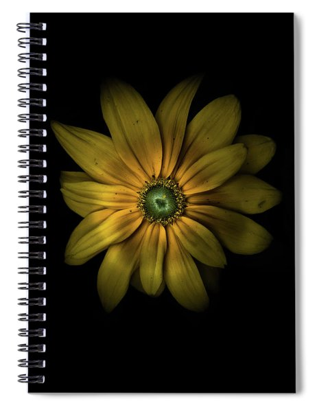 Backyard Flowers 34 Color Version Spiral Notebook