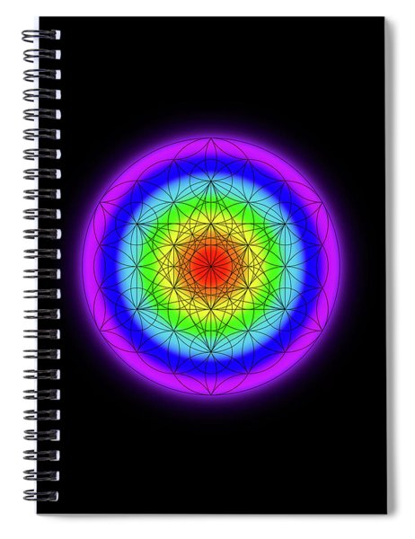 Fields Spiral Notebook
