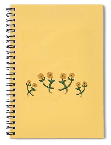 Eight In Bronze Spiral Notebook