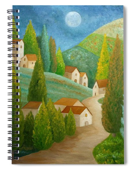 All Is Calm All Is Bright Spiral Notebook