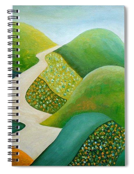 Stilling Hills Spiral Notebook