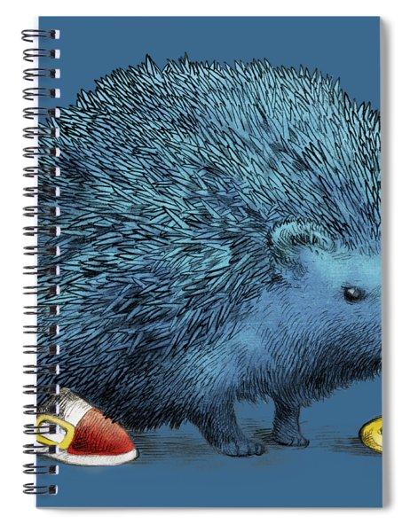 Sonic Spiral Notebook
