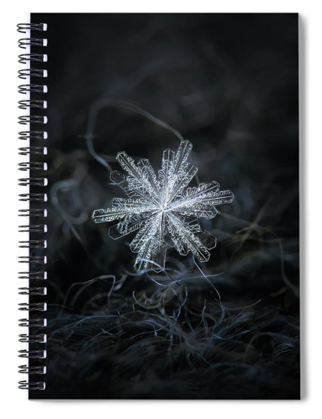 Real Snowflake - 18-dec-2018 - 3 Spiral Notebook