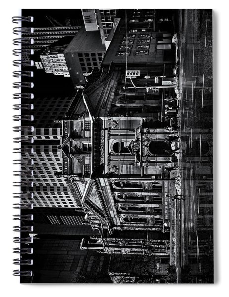 The Hockey Hall Of Fame Toronto Canada Reflection Spiral Notebook