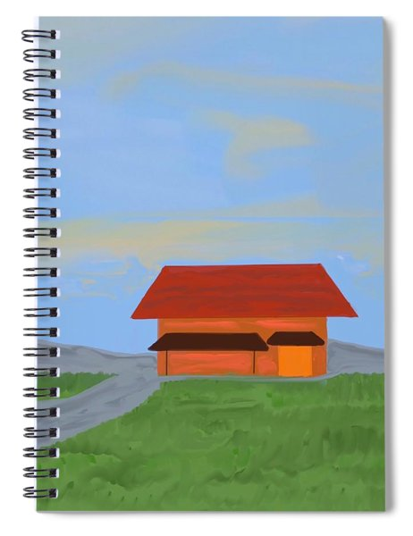 The Best Country Road Diner Spiral Notebook