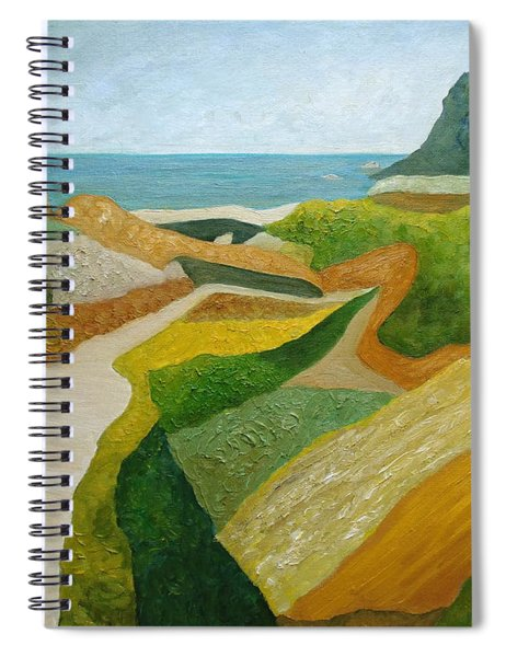 A Walk Down To The Sea Spiral Notebook