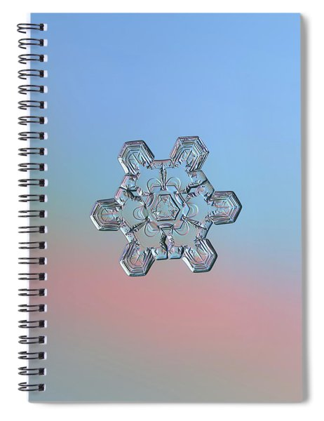 Real Snowflake - 10-jan-2019 - 1 Spiral Notebook