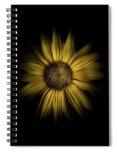 Backyard Flowers 18 Color Flow Version Spiral Notebook