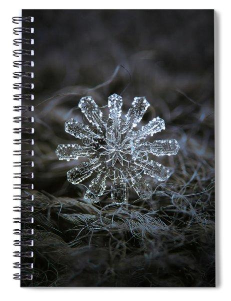 December 18 2015 - Snowflake 3 Spiral Notebook