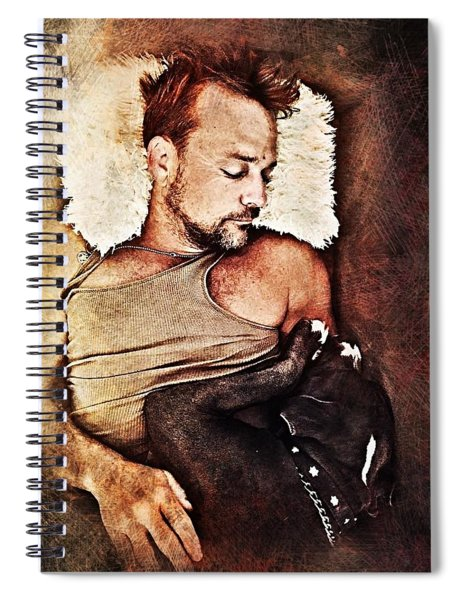 Flanery And Tex Spiral Notebook
