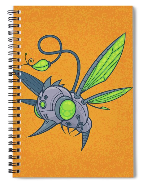 Humm-buzz Spiral Notebook