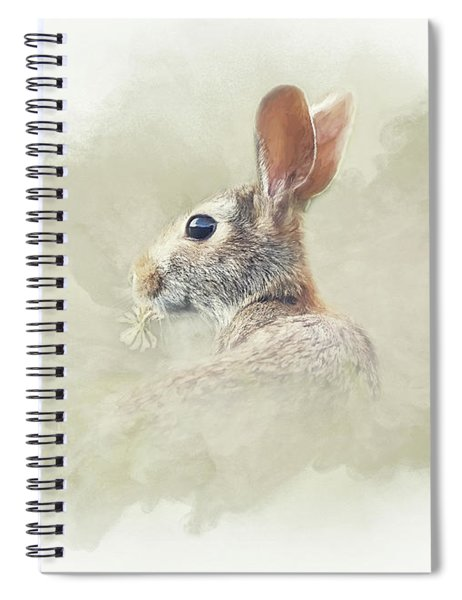 Woodland Hare Spiral Notebook