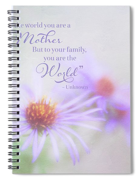Asters For Mother's Day Spiral Notebook