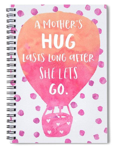 A Mother's Hug Spiral Notebook