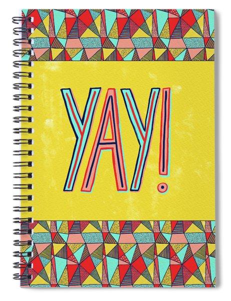 Yay Spiral Notebook